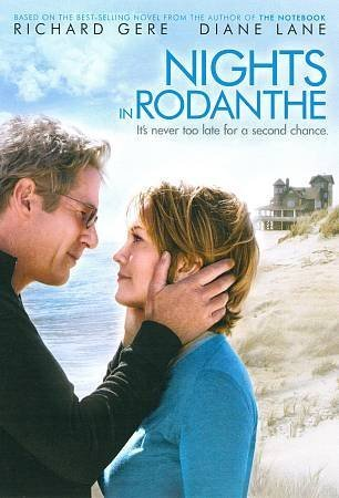 Nights In Rodanthe Gere Lane Franco Glenn Ws Fs Valentines Movie Cash Pg13