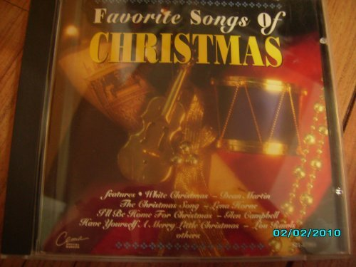Dean Martin Lena Horne Glen Campbell The Beach Boy Favorite Songs Of Christmas