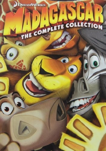 Madagascar Complete Collection DVD Pg