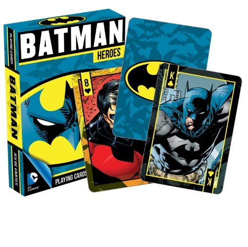 Dc Comics Batman Heroes Playing Cards