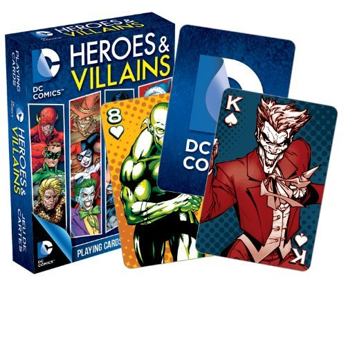 Dc Comics Heroes And Villains Playing Cards