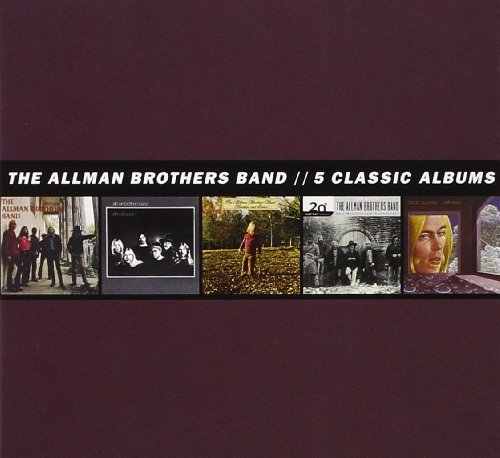 Allman Brothers Band 5 Classic Albums 5 CD