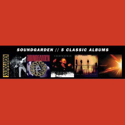 Soundgarden 5 Classic Albums 5 CD