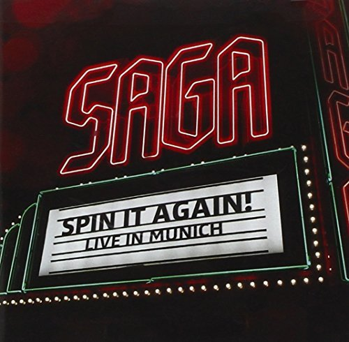 Saga Spin It Again Live In Munich 2 CD