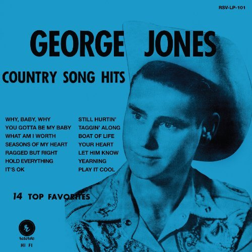 George Jones Grand Old Opry's New Star Incl. Vinyl Download Card