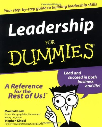 Marshall Loeb Leadership For Dummies.