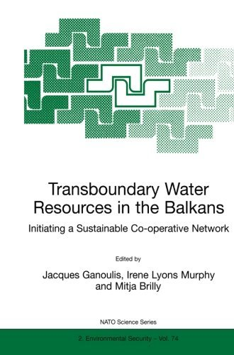 Jacques Ganoulis Transboundary Water Resources In The Balkans Initiating A Sustainable Co Operative Network Softcover Repri