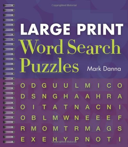 Mark Danna Large Print Word Search Puzzles Large Print