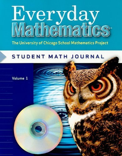 Max Bell Everyday Mathematics Student Math Journal Volume The University Of Chicago School Mathematics Proj