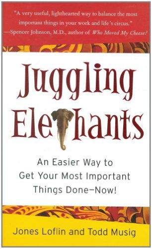 Jones Loflin Juggling Elephants An Easier Way To Get Your Big Most Important Thi