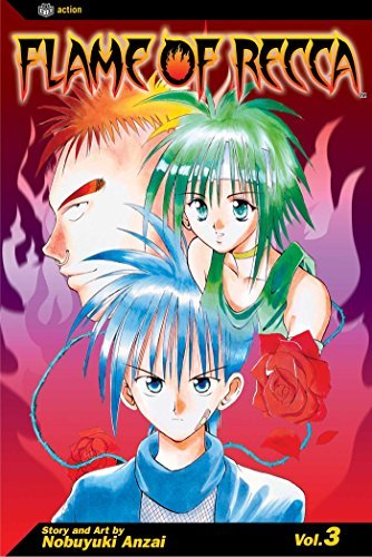 Nobuyuki Anzai Flame Of Recca Volume 3