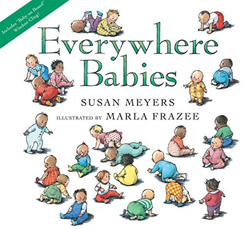 Susan Meyers Everywhere Babies [with Window Cling]