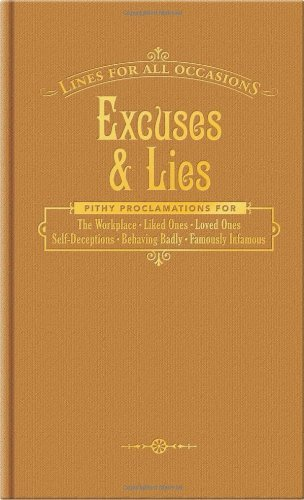 Knock Knock Books Knock Knock Excuses And Lies (lines For All Occasions) (lfao)