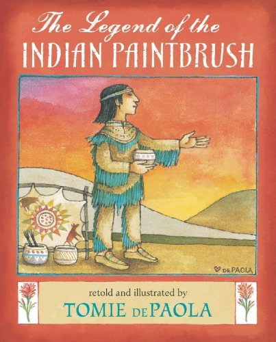 Tomie Depaola The Legend Of The Indian Paintbrush