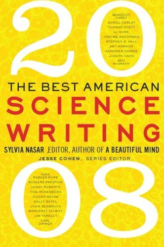 Sylvia Nasar The Best American Science Writing 2008