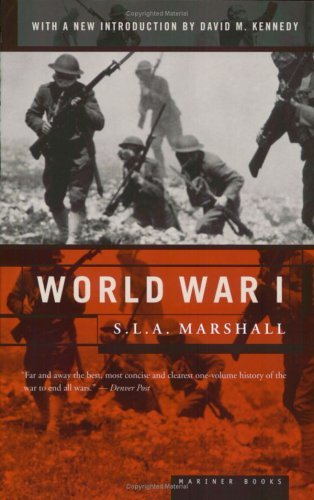 S. L. A. Marshall World War I