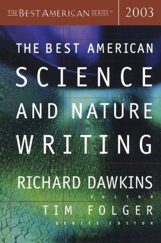 Richard Dawkins The Best American Science And Nature Writing 2003 2003