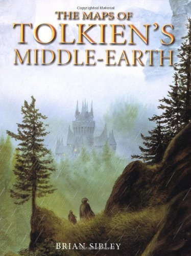 Brian Sibley The Maps Of Tolkien's Middle Earth
