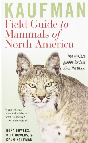 Kenn Kaufman Kaufman Field Guide To Mammals Of North America