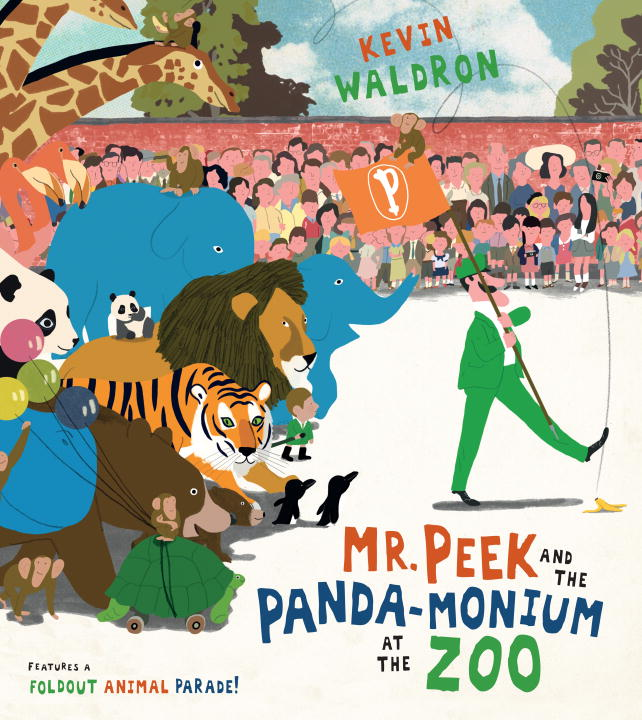 Kevin Waldron Panda Monium At Peek Zoo