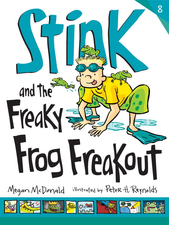 Megan Mcdonald Stink And The Freaky Frog Freakout