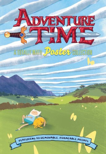 Cartoon Network Adventure Time A Totally Math Poster Collection (poster Book) F