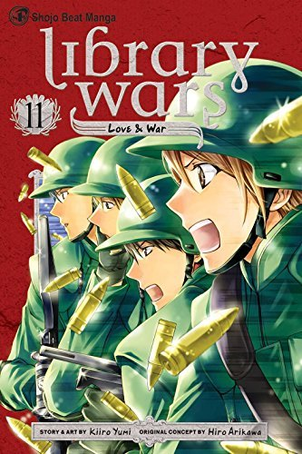 Kiiro Yumi Library Wars Love & War Volume 11