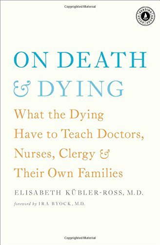 Elisabeth Kubler Ross On Death & Dying What The Dying Have To Teach Doctors Nurses Cle