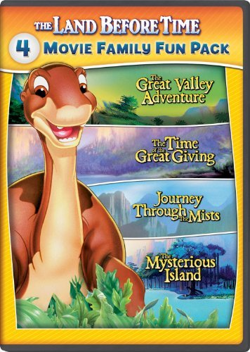 Land Before Time 2 5 Family Fun Pack DVD G
