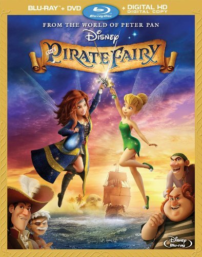 Pirate Fairy Disney Blu Ray DVD G Ws