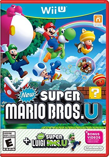 Wii U New Super Mario Bros. U W New Super Luigi U Game W New Super Luigi U Game