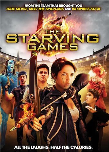 Starving Games Christian Walsh Bowles DVD Pg13 Ws