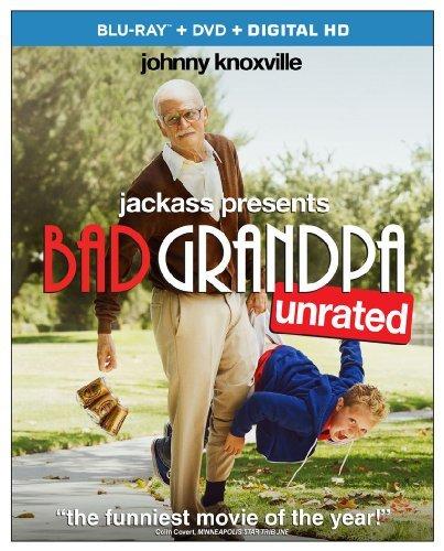 Jackass Presents Bad Grandpa Knoxville Nicoll Harris Blu Ray DVD R