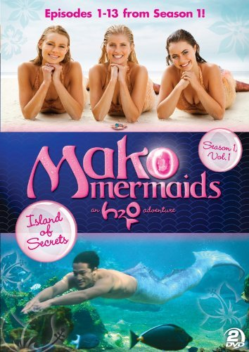 Mako Mermaids An H2o Adventure Season 1 Vome 1 Island Of Secrets DVD Tvg Ws