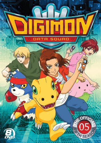 Digimon Data Squad Season 5 DVD Tvy7