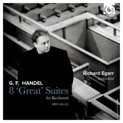 George Frideric Handel Eight 'great' Suites For Keybo Egarr (hps) 2 CD