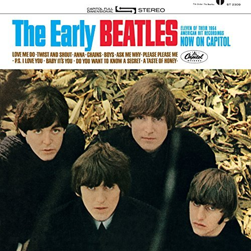 Beatles Early Beatles (the U.S. Album) Mini Lp Replica