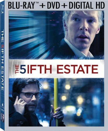 Fifth Estate Cumberbatch Tucci Bruhl Blu Ray Ws R DVD Dc Uv