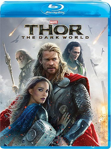 Thor The Dark World Hemsworth Portman Hiddleston Blu Ray Nr