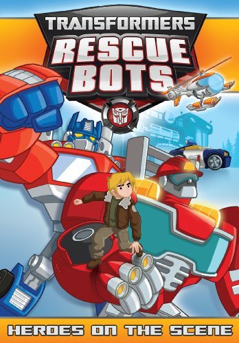 Transformers Rescue Bots Heroes On The Scene DVD Tvy Ws