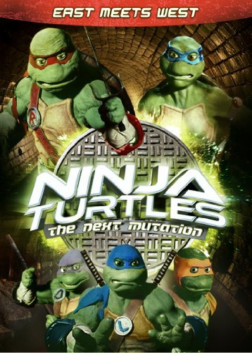 Ninja Turtles Next Mutation East Meets West DVD Tvy7 Fs