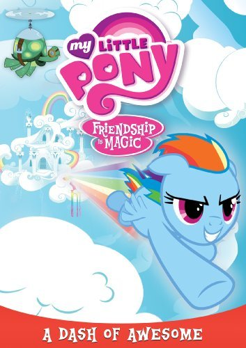 My Little Pony Friendship Is Magic Dash Of Awesome DVD Tvy