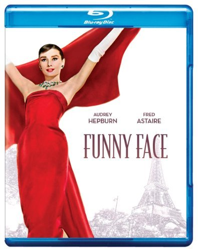Funny Face (1957) Hepburn Astaire Blu Ray Nr Ws