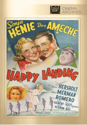 Happy Landing Henie Ameche Hersholt Merman R DVD Mod This Item Is Made On Demand Could Take 2 3 Weeks For Delivery