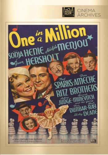 One In A Million Henie Menjou Ameche Sparks Her Made On Demand Nr