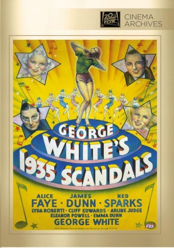 George White's Scandals Of '35 Faye Dunn White Sparks Edwards DVD R Bw Nr