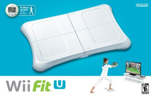 Wii U Fit U With Fit Meter Wiiu Fit U With Balance Brd & E
