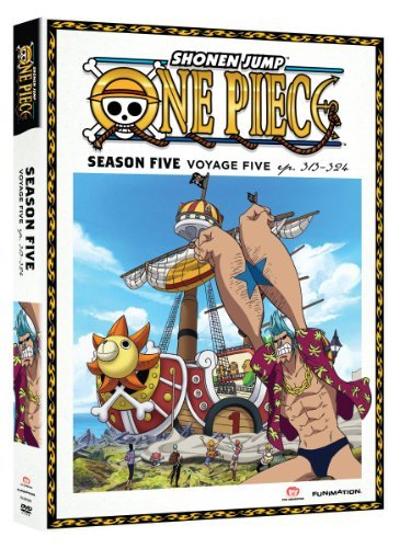 One Piece Season 5 Voyage 5 DVD Tv14