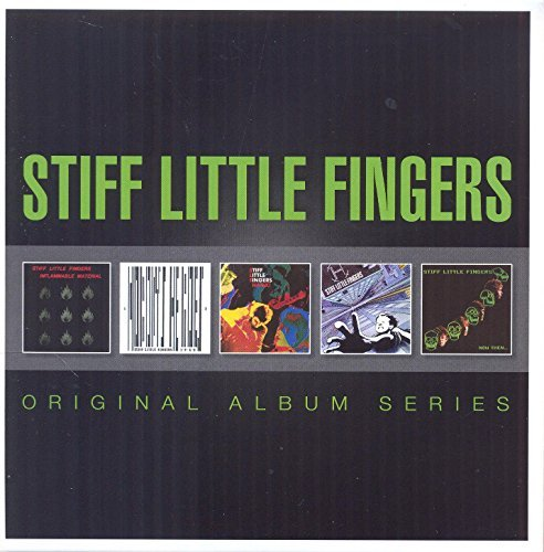 Stiff Little Fingers Original Album Series Import Eu 5 CD