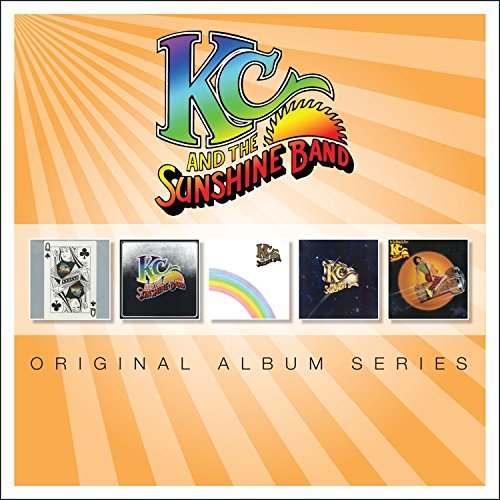 Kc & The Sunshine Band Original Album Series Import Eu 5 CD